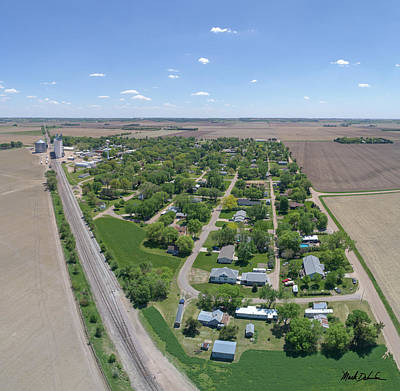 Photograph - Bellwood, Nebraska by Mark Dahmke