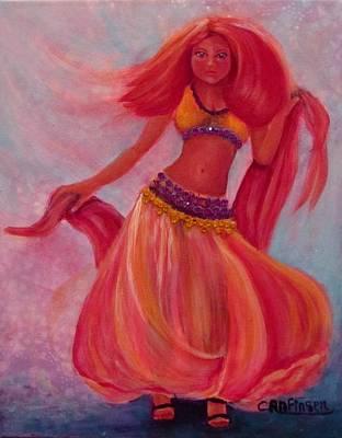 Painting - Belly Dancer by Carol Allen Anfinsen