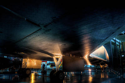Photograph - Belly Of The Shuttle by Daryl Clark