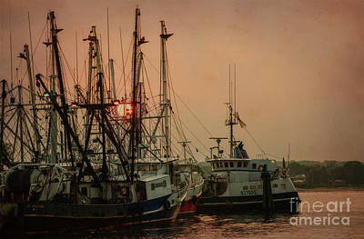 Photograph - Pt Pleasant Fishing Boats by Debra Fedchin
