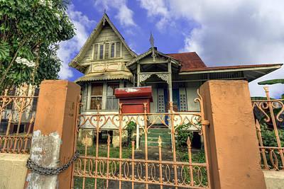 Caribbean Photograph - Belmont House by Nadia Sanowar