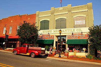 Photograph - Stowe Mercantile 1 by Joseph C Hinson Photography