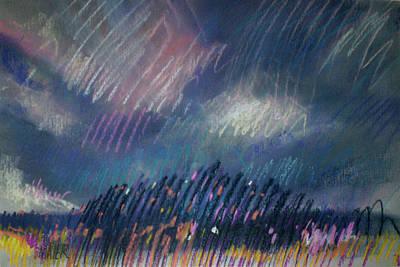 Belmont Lights Print by Donald Maier