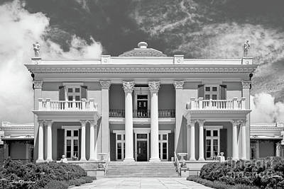Photograph - Belmont University Belmont Mansion by University Icons