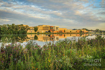 Photograph - Beloit Memorial High School by Viviana  Nadowski