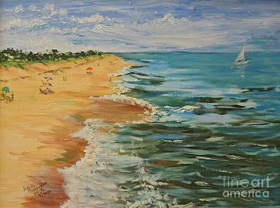 Painting - Beloved Beach - Sold by Judith Espinoza