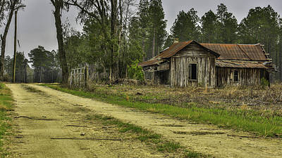 Photograph - Path To Rustic Barn by Paula Porterfield-Izzo