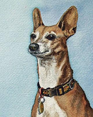 Painting - Beloved Dog by Irina Sztukowski