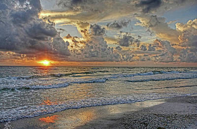 Photograph - Beloved - Florida Sunset by HH Photography of Florida