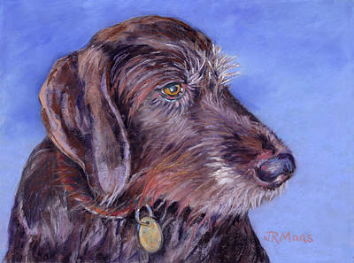 Painting - Beloved Gina by Julie Maas