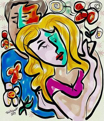 Digital Art - Beloved by Ted Azriel