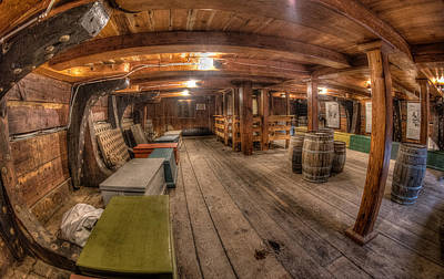 Photograph - Below Deck by Fred LeBlanc