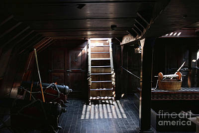 Photograph - Below Deck by Gazie Nagle