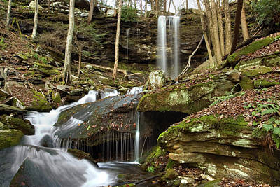 Photograph - Below Jacoby Waterfall by Gene Walls
