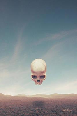 Digital Art - Below by Joseph Westrupp