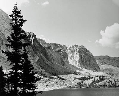 Art Print featuring the photograph Below Medicine Bow by Allan McConnell
