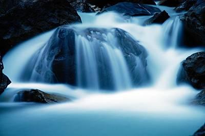 Photograph - Below Tak Falls by Larry Ricker