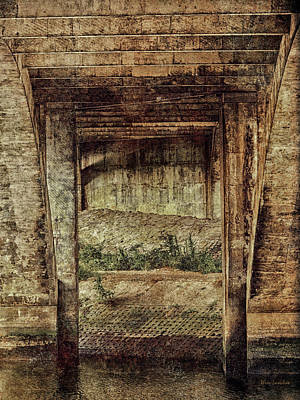 Photograph - Below The Bridge by Wim Lanclus