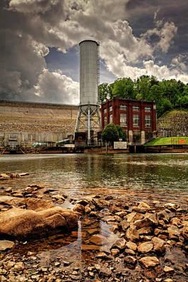 Dramatic Photograph - Below The Dam by Greg Mimbs
