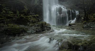 Photograph - Below The Falls by Adam Gibbs