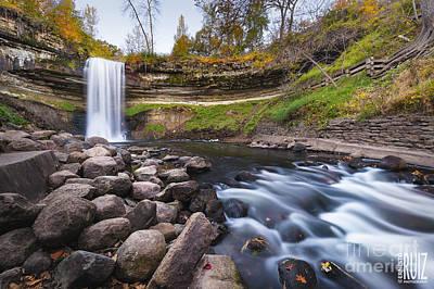 Minnehaha Falls Photograph - Below The Falls by Ernesto Ruiz