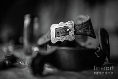 Photograph - Belt Buckle by Patti Schulze