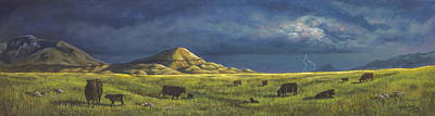Painting - Belt Butte Spring by Kim Lockman