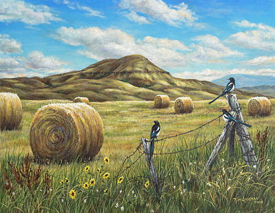 Painting - Belt Butte Summer by Kim Lockman