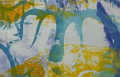 Printmaking Mixed Media - Belt Line Underpass by Amanda Abraham