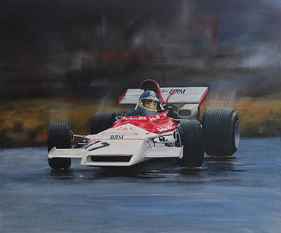 Painting - Beltoise ,monaco Gp by Steve Jones