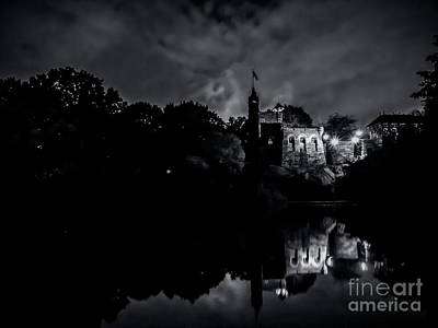 Photograph - Belvedere Castle In Central Park At Night by James Aiken