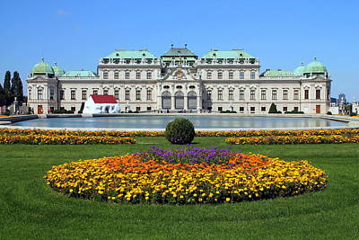 Photograph - Belvedere Palace by Laurel Talabere