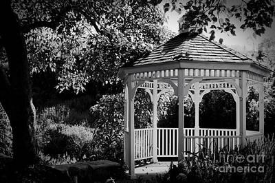Photograph - Belvedere Tropical Garden Gazebo by Sharon Mau