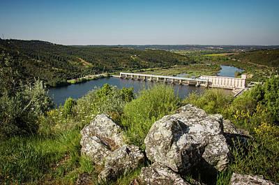 Photograph - Belver Dam by Carlos Caetano