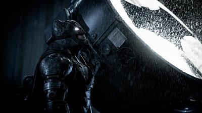 Ben Affleck Digital Art - Ben Affleck As Batman by Anne Pool