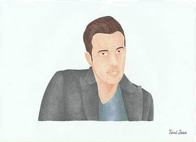 Ben Affleck Drawing - Ben Affleck by Toni Jaso