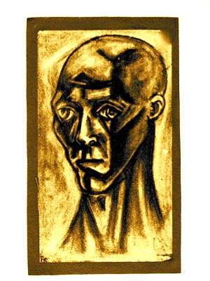 Ben Art Print by Al Goldfarb