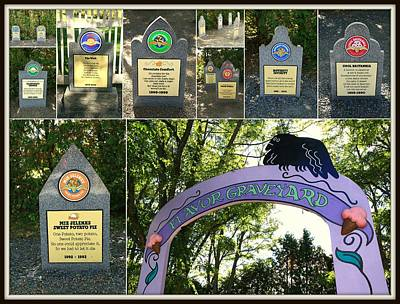 Photograph - Ben And Jerry's Flavor Graveyard by Allen Beatty