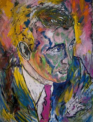 Ben Bugsy Siegel Art Print by Azul Fam