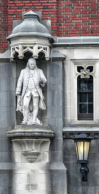 Photograph - Ben Franklin At Princeton University by Dave Mills