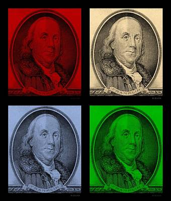 Photograph - Ben Franklin In Colors by Rob Hans