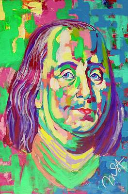 Painting - Ben Franklin by Janice Westfall