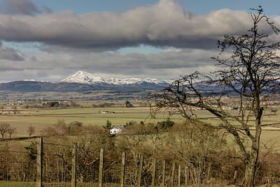 Art Print featuring the photograph Ben Ledi Across The Carse by RKAB Works