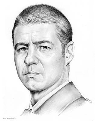 Actors Royalty-Free and Rights-Managed Images - Ben McKenzie by Greg Joens