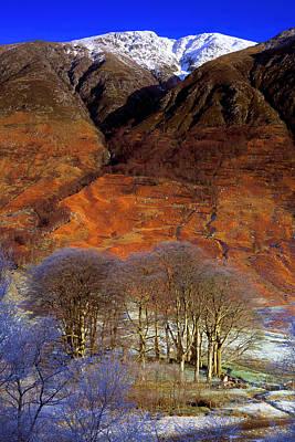 Nevis Photograph - Ben Nevis From Glen Nevis by John McKinlay