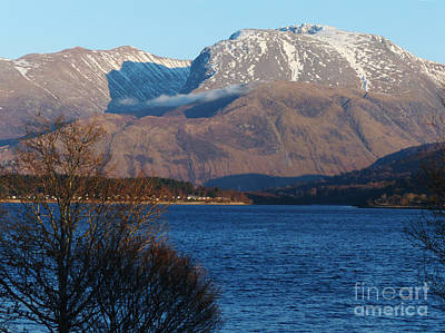 Photograph - Ben Nevis From Loch Eil by Phil Banks