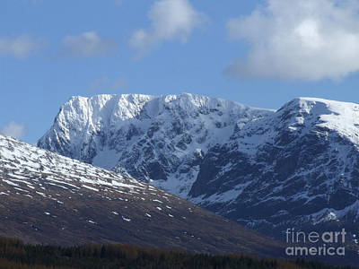 Photograph - Ben Nevis North Face by Phil Banks