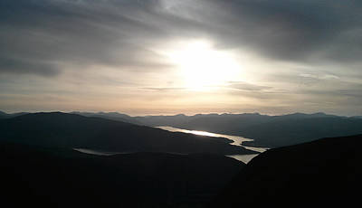 Mountain Photograph - Ben Nevis Sunset by Lone Summit