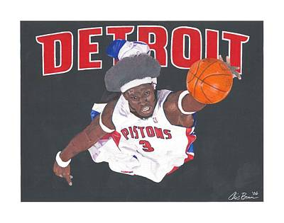 Mixed Media - Ben Wallace by Chris Brown