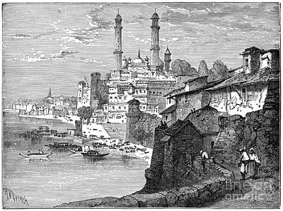 Drawing - Benares, C1894.  by Granger
